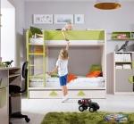 gyerekbútor emeletes ággyal